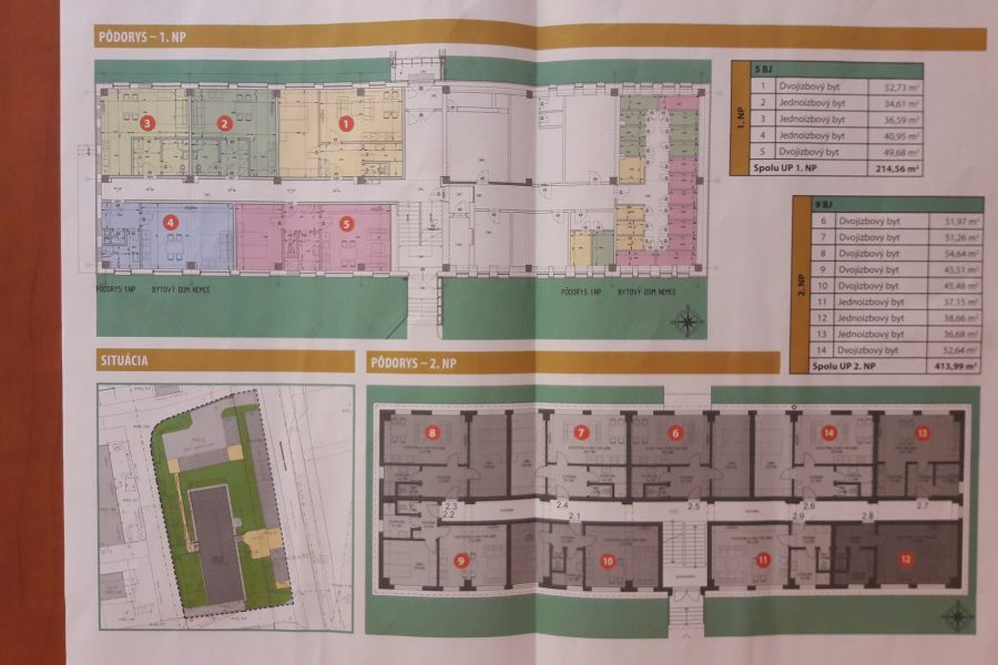 PREDANÉ – 2 izbové byty v novostavbe za výhodnú cenu, Nemce