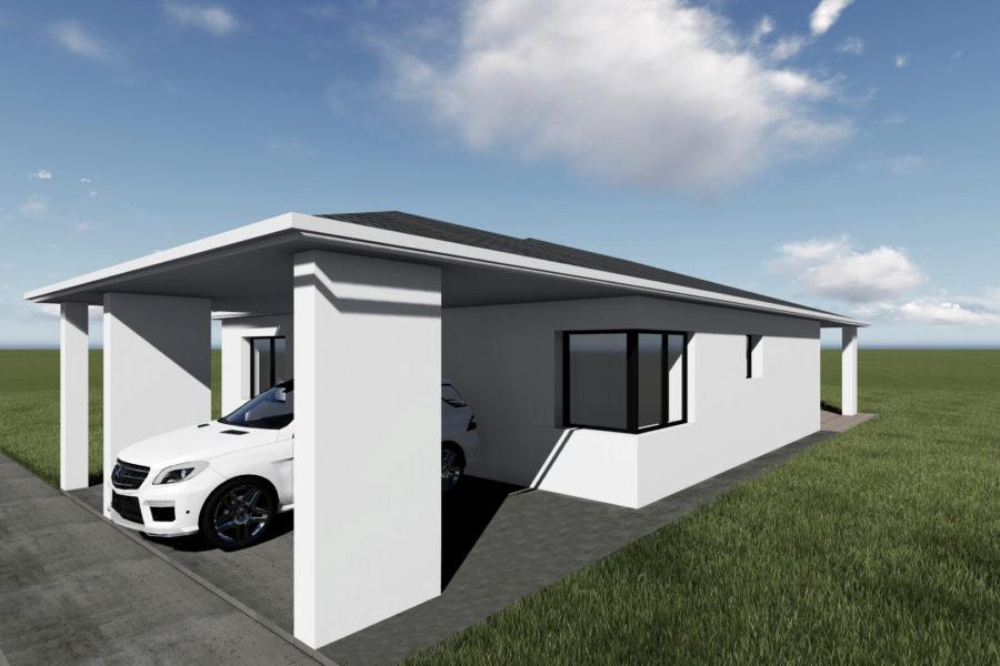 PREDANÝ – Predaj novostavby rodinného domu 10 km od BB, Dolná Mičiná