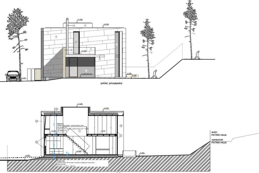 PREDANÝ – Predaj stavebného pozemku aj so stavebným povolením (878 m2), Banská Bystrica