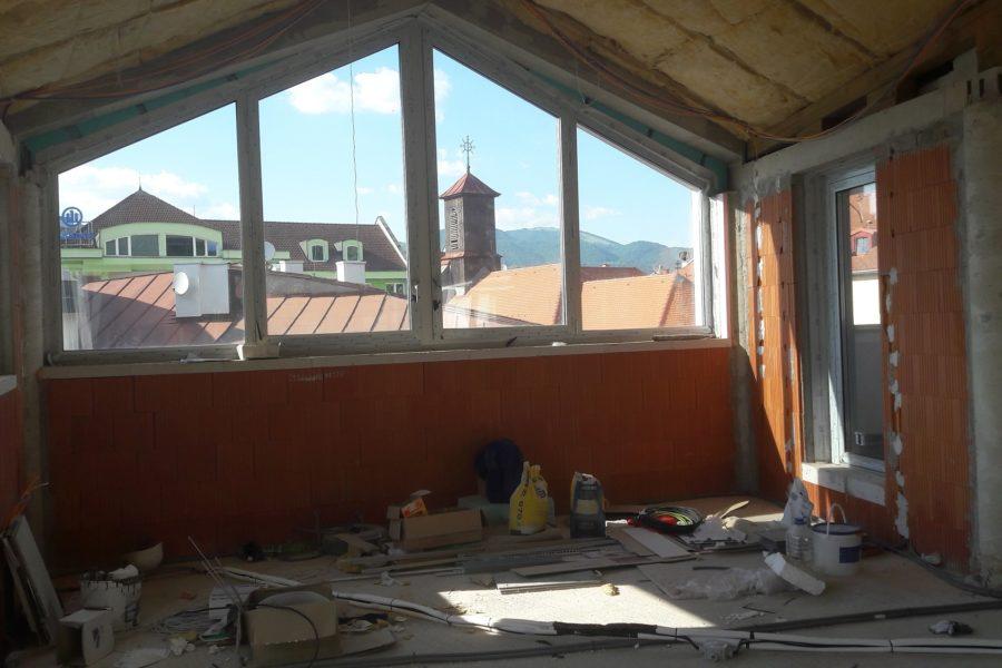PREDANÝ – Posledný 4 izb. byt na Huštáku s 3 terasami