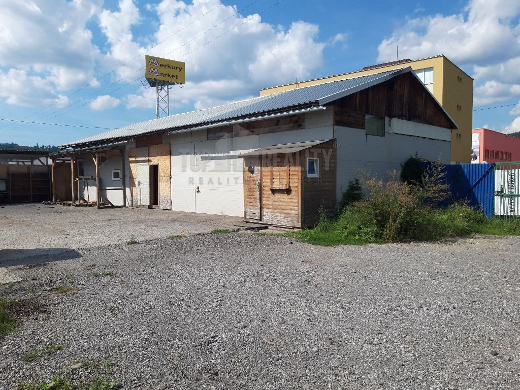 Prenájom priestorov na Zvolenskej ceste v smere BB-ZV (100 m2 budova, 1.000 m2 pozemok)