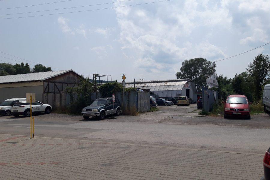 Prenájom skladu na Zvolenskej ceste (aktuálne sa využíva ako autoservis), B. Bystrica